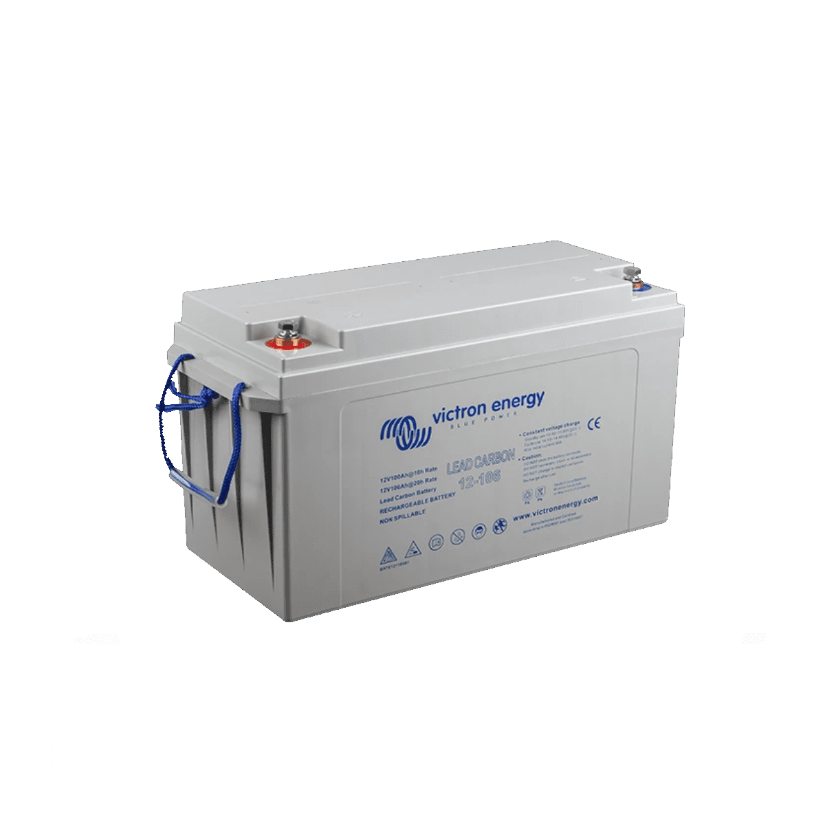 Victron 12V 106Ah Lead Carbon Deep Cycle Battery on Sale