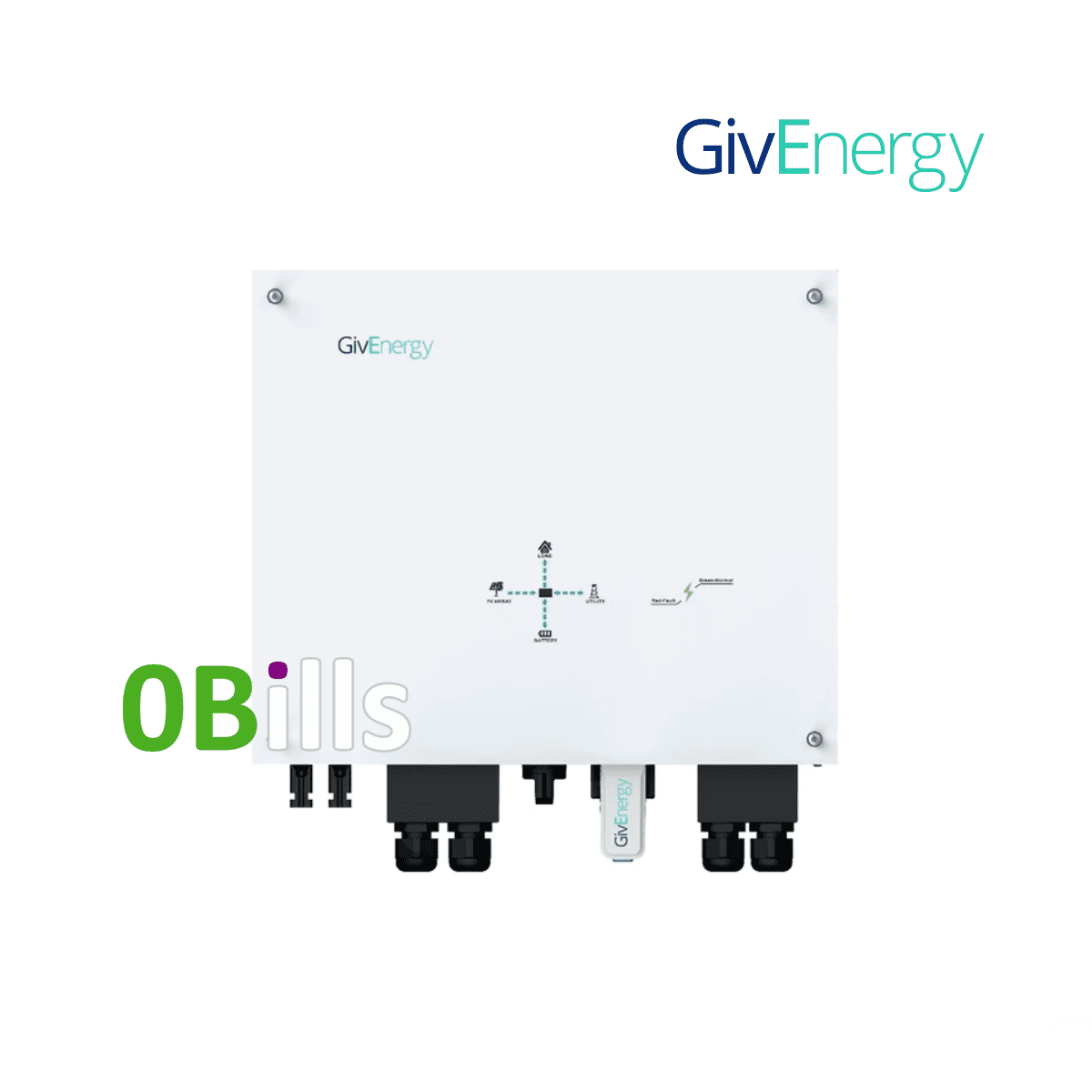 GivEnergy Giv-HY3.6 3.6kW Hybrid Solar Inverter for Sale