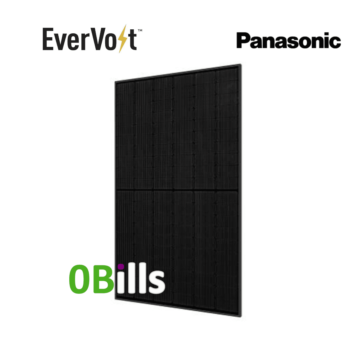 Panasonic EverVolt EVPV350K 350W Solar Panel Black Series for Sale