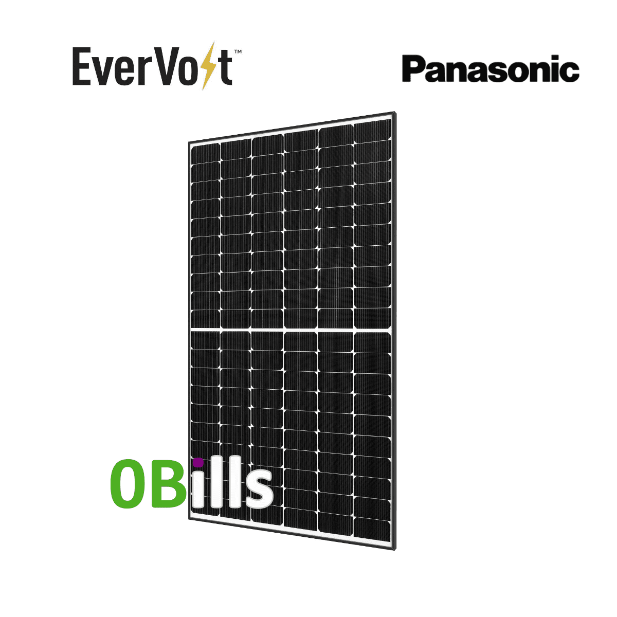 Panasonic EverVolt EVPV360 360W Solar Panel for Sale
